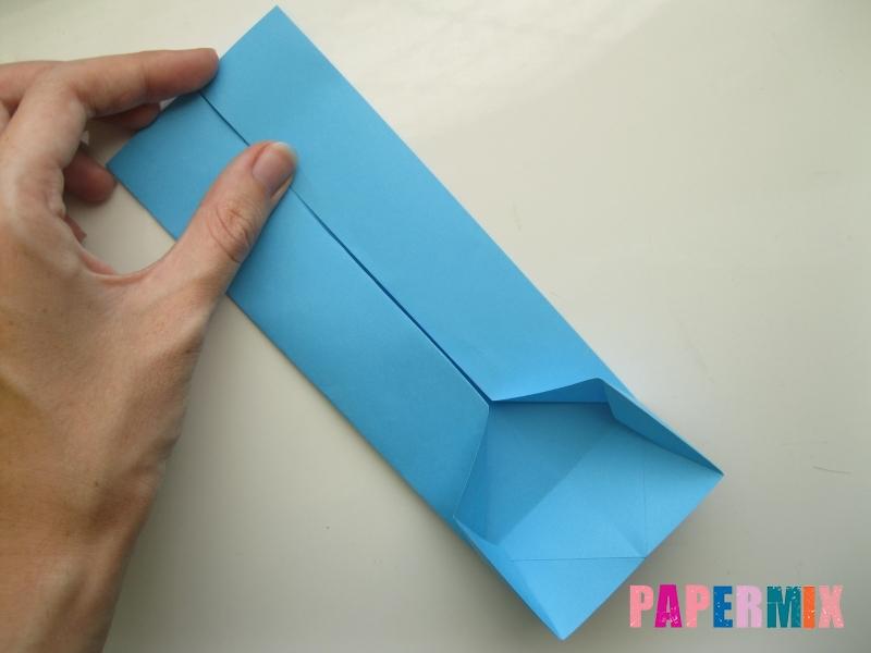 Как сделать рубашка с галстуком из бумаги (оригами) - шаг 12