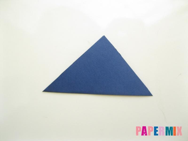 Как сделать рубашка с галстуком из бумаги (оригами) - шаг 23