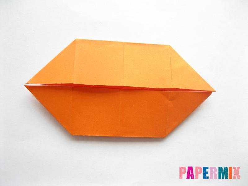 Как сделать стол из бумаги (оригами) поэтапно - шаг 11