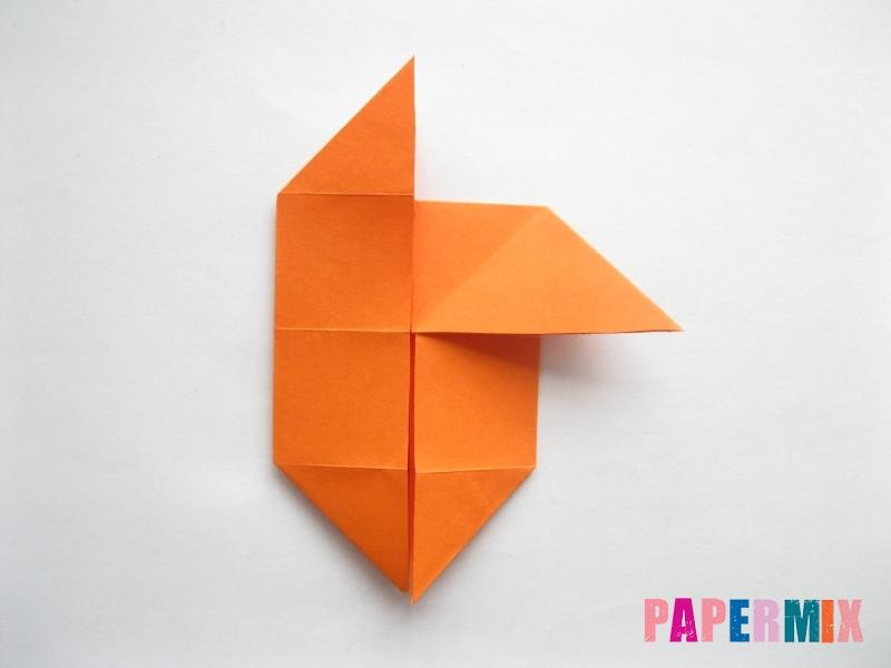Как сделать стол из бумаги (оригами) поэтапно - шаг 13