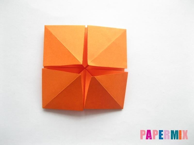 Как сделать стол из бумаги (оригами) поэтапно - шаг 16