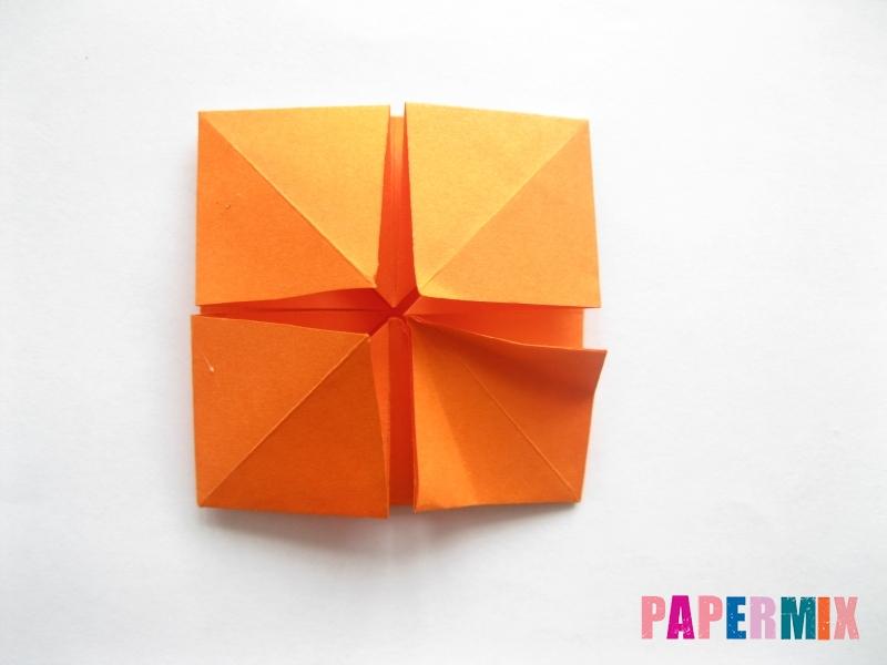 Как сделать стол из бумаги (оригами) поэтапно - шаг 18