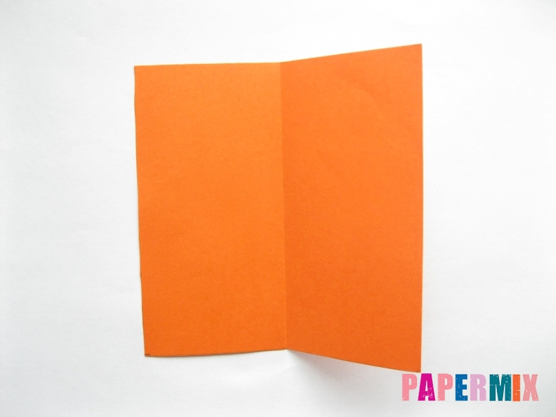 Как сделать стол из бумаги (оригами) поэтапно - шаг 2