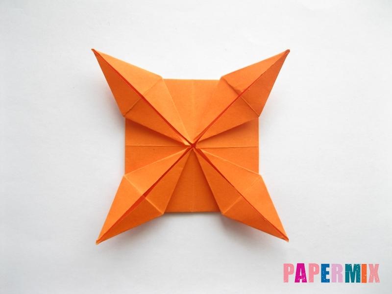 Как сделать стол из бумаги (оригами) поэтапно - шаг 20
