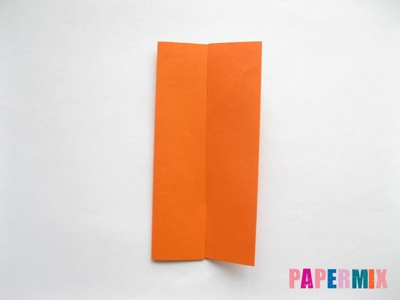 Как сделать стол из бумаги (оригами) поэтапно - шаг 3