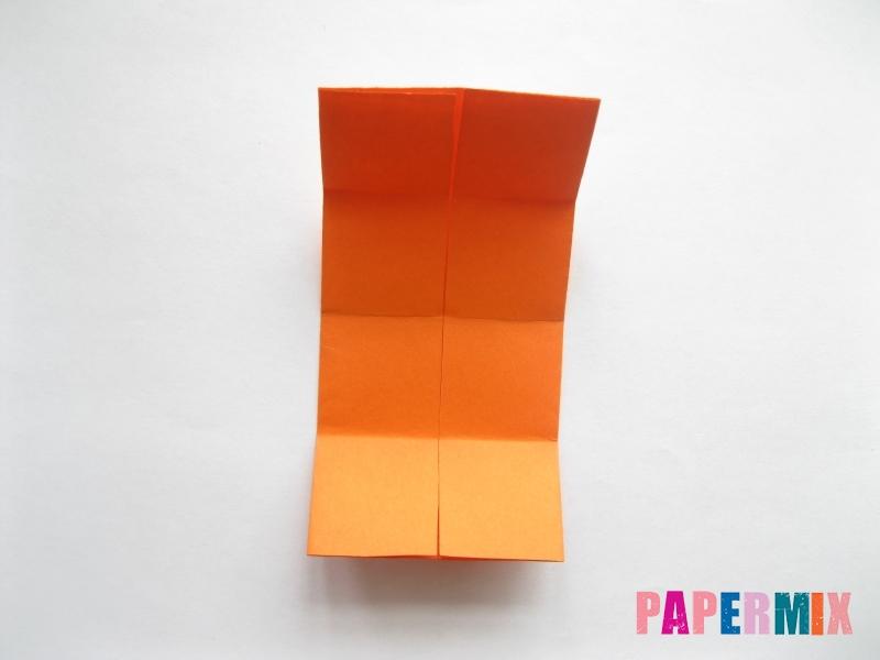 Как сделать стол из бумаги (оригами) поэтапно - шаг 7