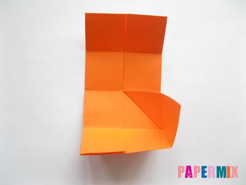 Как сделать стол из бумаги (оригами) поэтапно - шаг 8