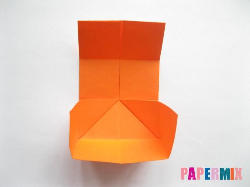 Как сделать стол из бумаги (оригами) поэтапно - шаг 9