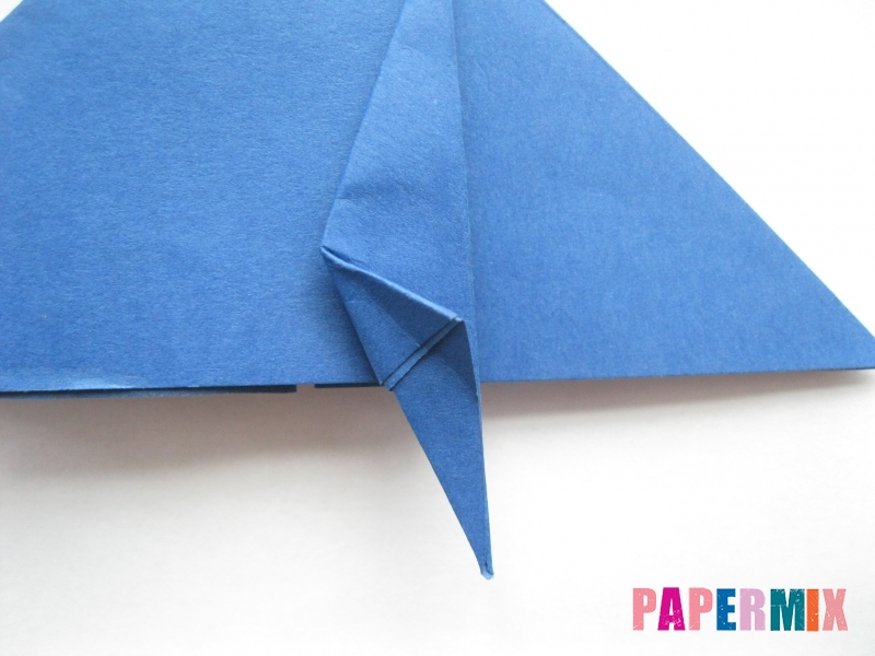 Как сделать стул из бумаги (оригами) поэтапно - шаг 10