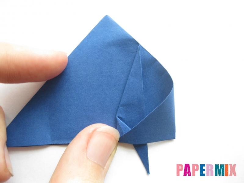Как сделать стул из бумаги (оригами) поэтапно - шаг 12