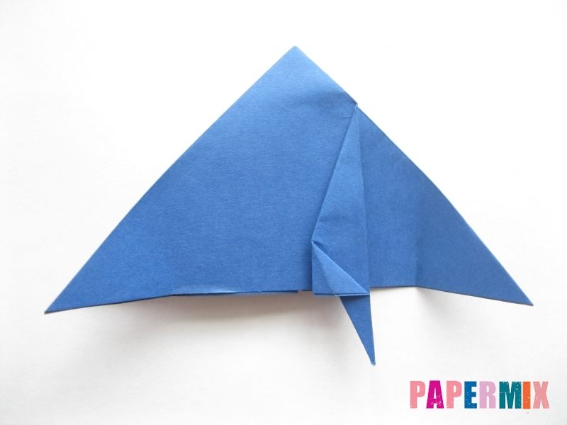 Как сделать стул из бумаги (оригами) поэтапно - шаг 13