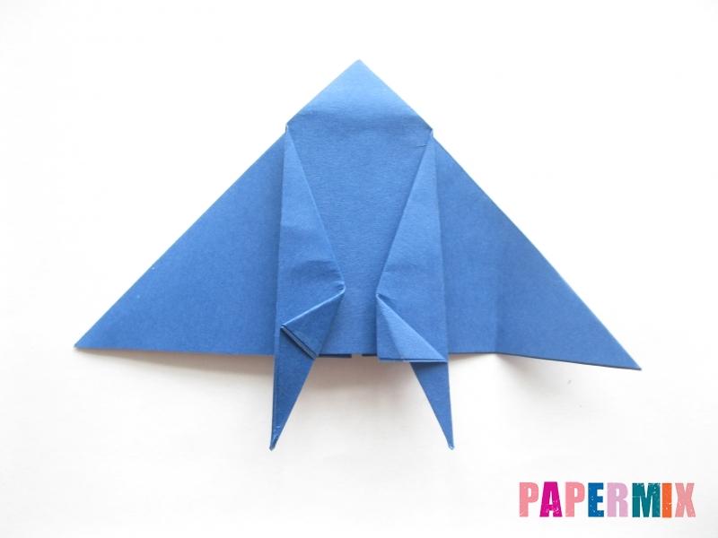 Как сделать стул из бумаги (оригами) поэтапно - шаг 16
