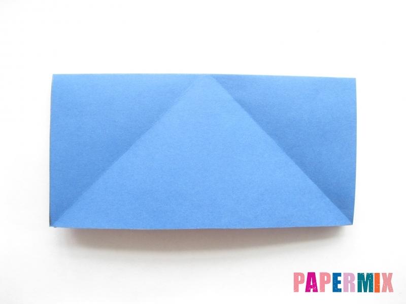 Как сделать стул из бумаги (оригами) поэтапно - шаг 2