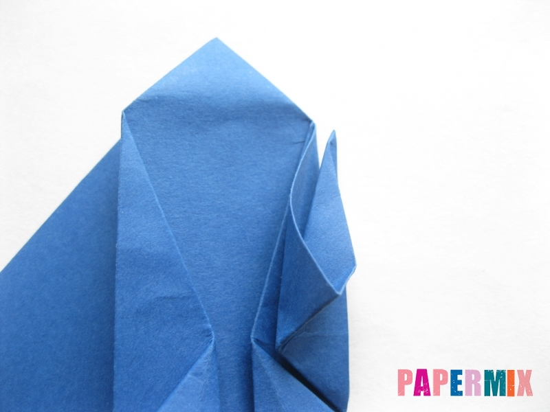 Как сделать стул из бумаги (оригами) поэтапно - шаг 22