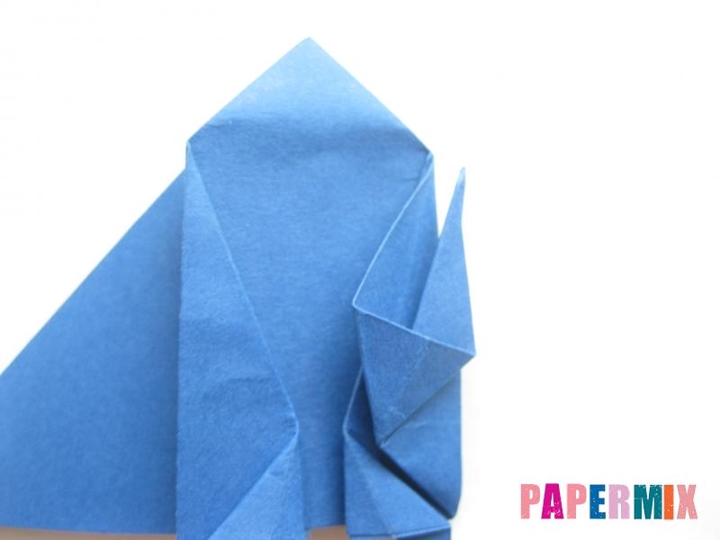 Как сделать стул из бумаги (оригами) поэтапно - шаг 23