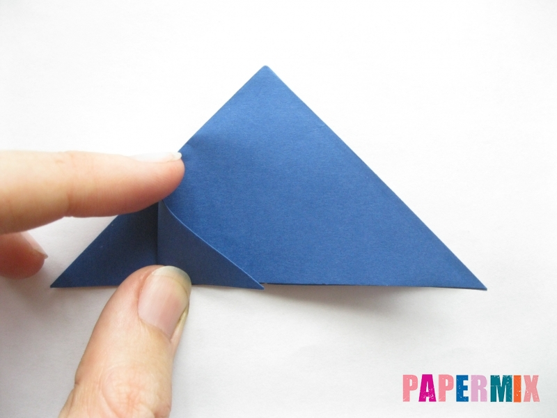 Как сделать стул из бумаги (оригами) поэтапно - шаг 5