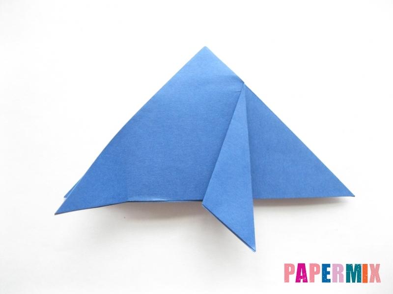 Как сделать стул из бумаги (оригами) поэтапно - шаг 7