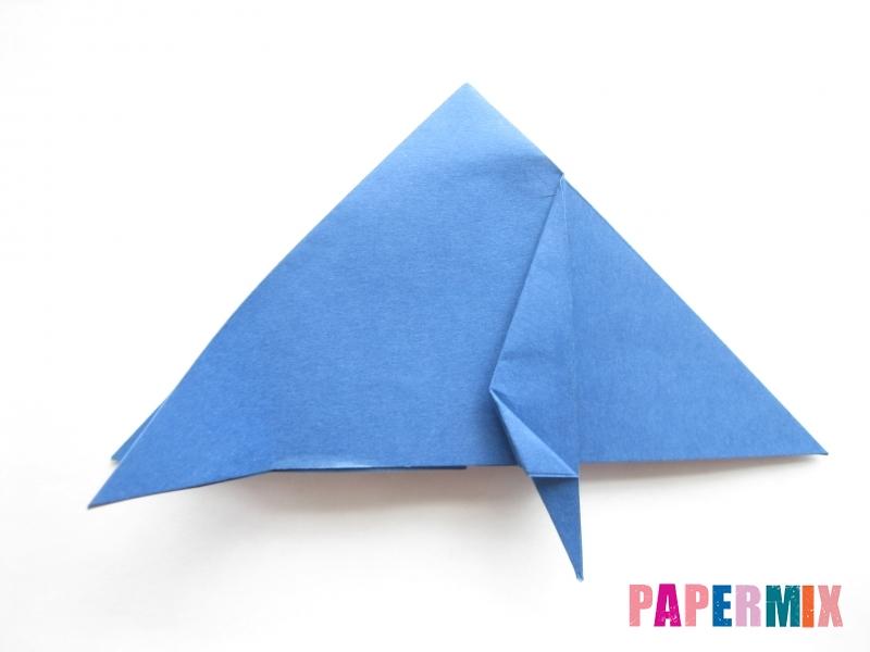 Как сделать стул из бумаги (оригами) поэтапно - шаг 9