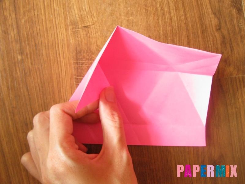 Как сделать тетраэдр из бумаги своими руками - шаг 13