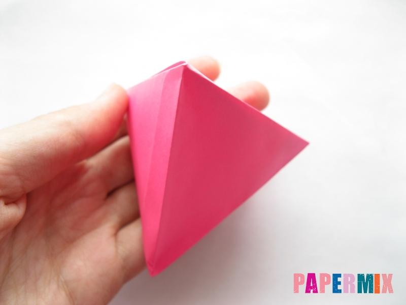 Как сделать тетраэдр из бумаги своими руками - шаг 18