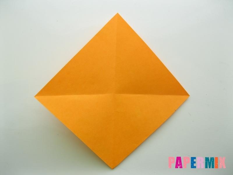 Как сделать туфли из бумаги (оригами) своими руками - шаг 1