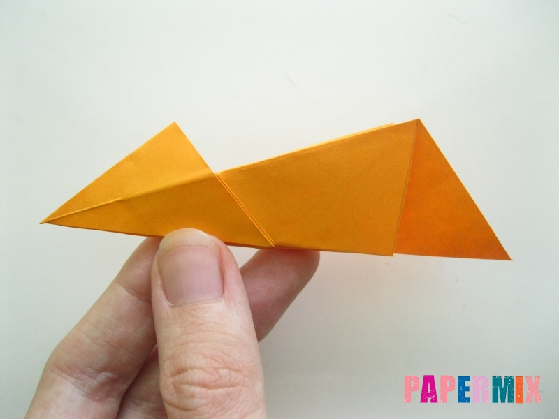 Как сделать туфли из бумаги (оригами) своими руками - шаг 10