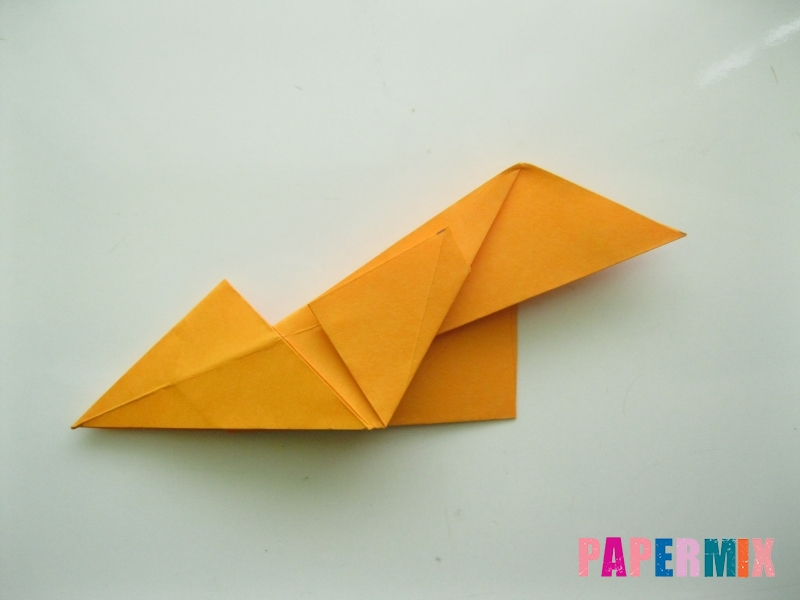 Как сделать туфли из бумаги (оригами) своими руками - шаг 12