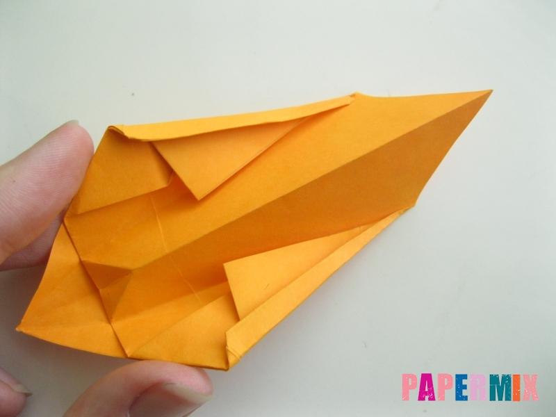 Как сделать туфли из бумаги (оригами) своими руками - шаг 16