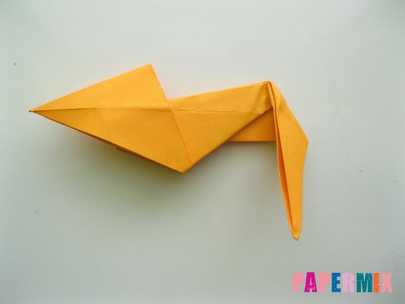 Как сделать туфли из бумаги (оригами) своими руками - шаг 20