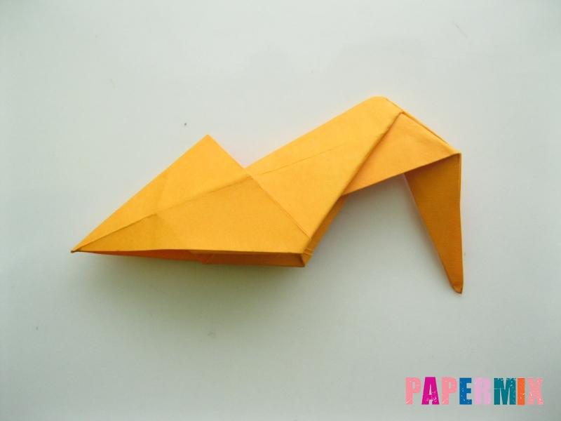 Как сделать туфли из бумаги (оригами) своими руками - шаг 21