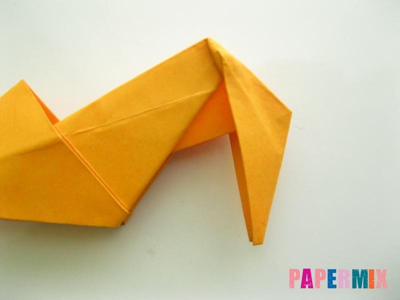 Как сделать туфли из бумаги (оригами) своими руками - шаг 24