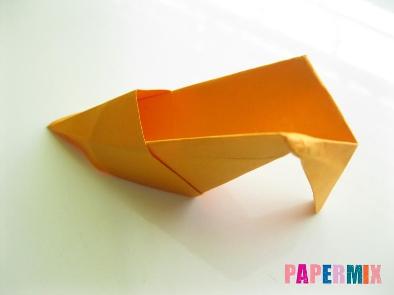 Как сделать туфли из бумаги (оригами) своими руками - шаг 25