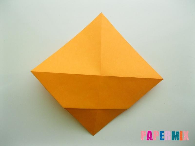 Как сделать туфли из бумаги (оригами) своими руками - шаг 3