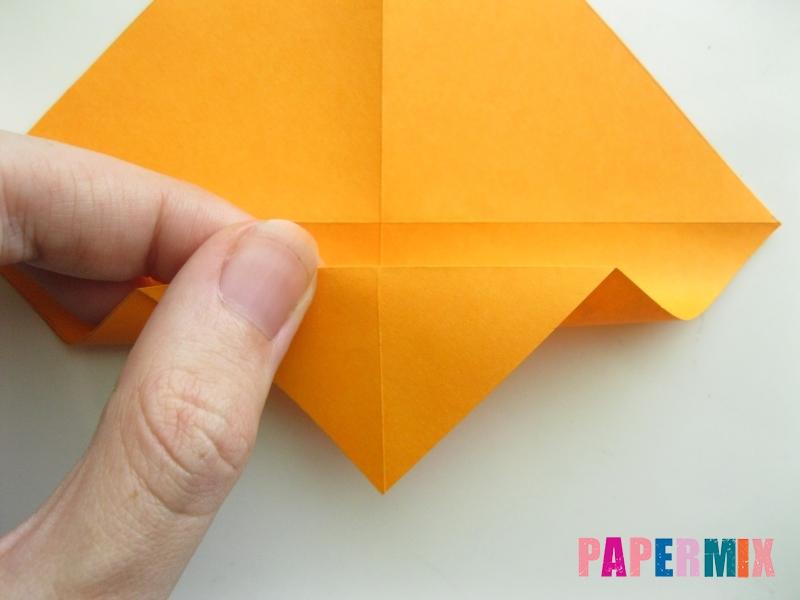 Как сделать туфли из бумаги (оригами) своими руками - шаг 4
