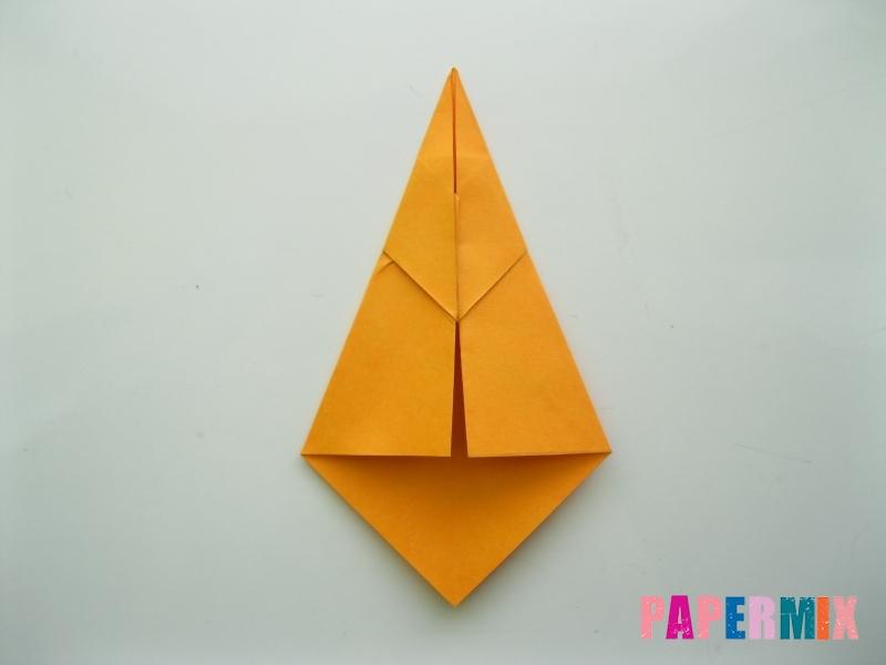 Как сделать туфли из бумаги (оригами) своими руками - шаг 8