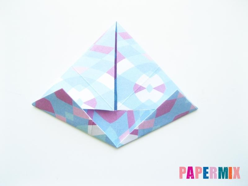 Как сделать зонтик из бумаги своими руками - шаг 7
