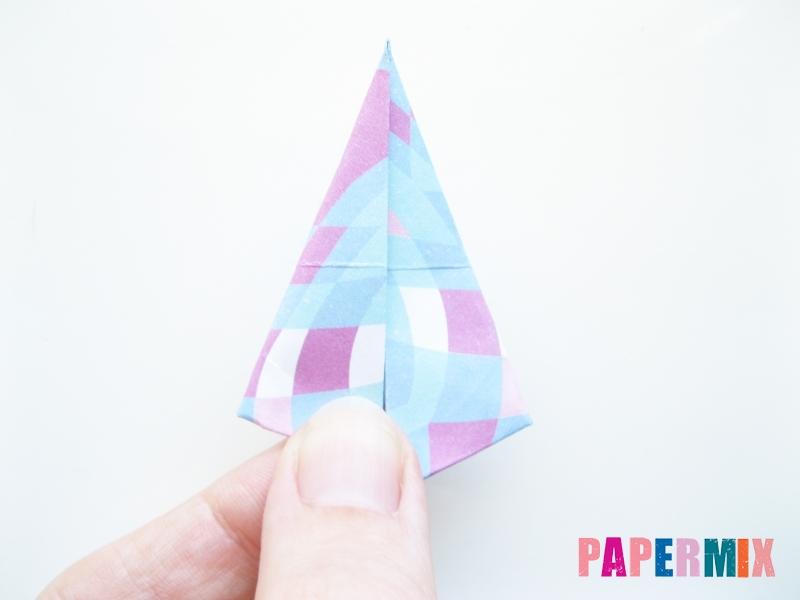 Как сделать зонтик из бумаги своими руками - шаг 9