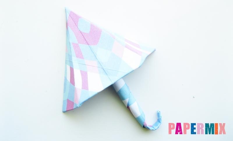 Как сделать зонтик из бумаги своими руками поэтапно