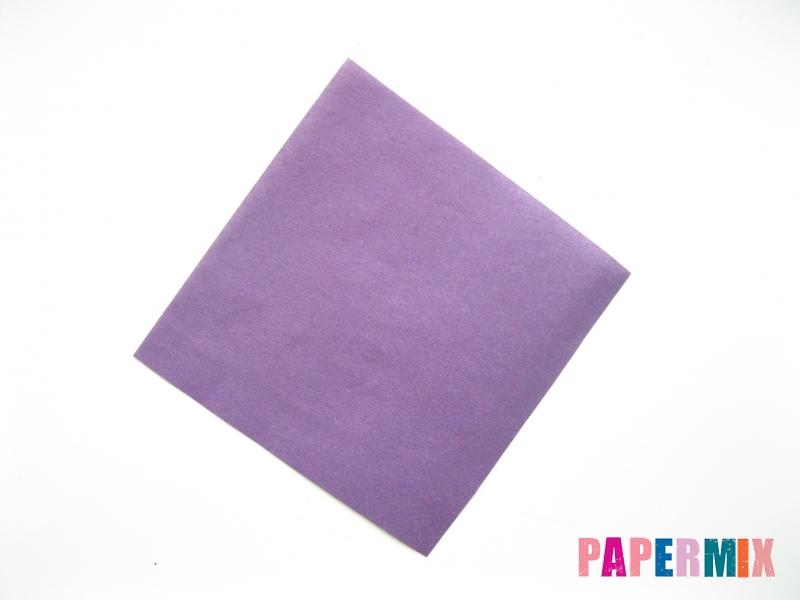 Как сделать корабль из бумаги (оригами) своими руками - шаг 1