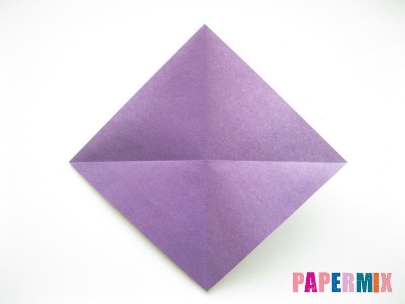 Как сделать корабль из бумаги (оригами) своими руками - шаг 2