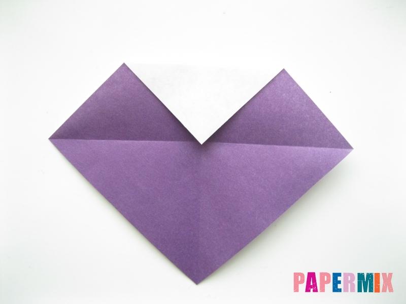 Как сделать корабль из бумаги (оригами) своими руками - шаг 3