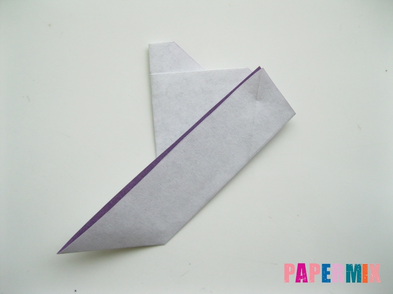 Как сделать корабль из бумаги (оригами) своими руками - шаг 7