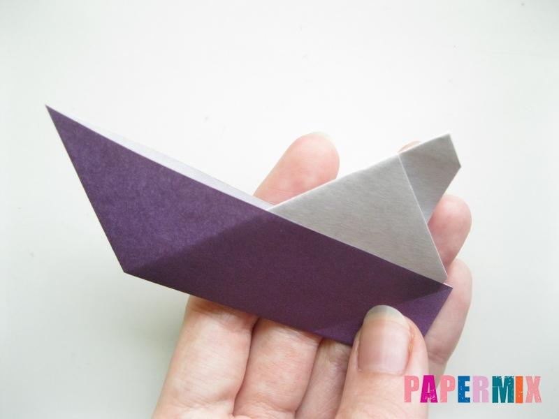 Как сделать корабль из бумаги (оригами) своими руками - шаг 9