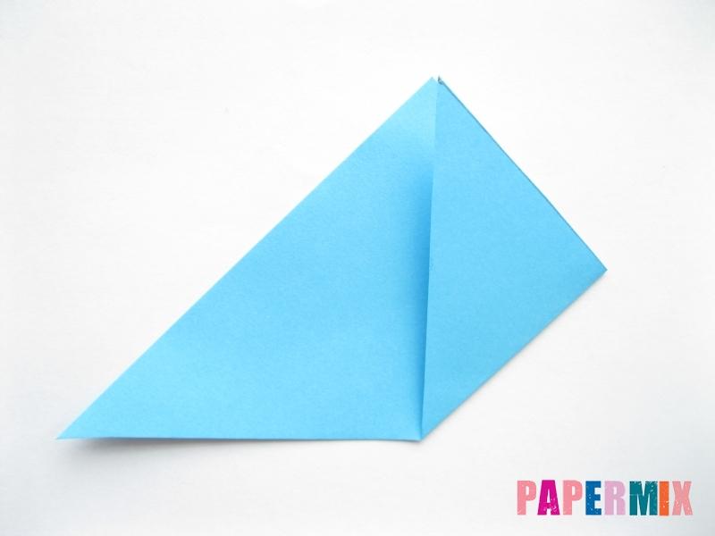 Как сделать парусник из бумаги (оригами) поэтапно - шаг 3
