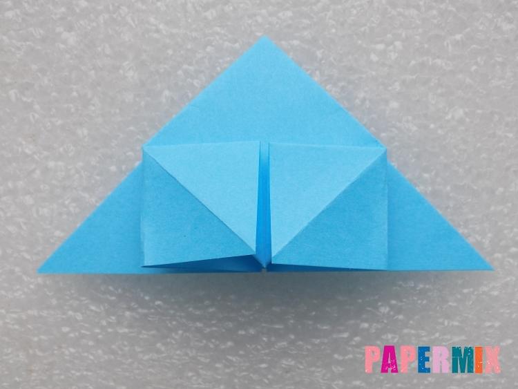 Как сделать ракету из бумаги поэтапно - шаг 10