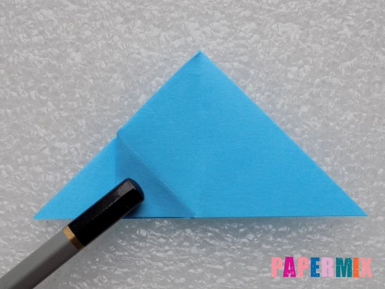 Как сделать ракету из бумаги поэтапно - шаг 11
