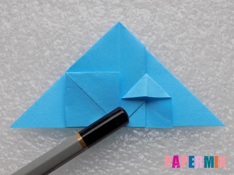 Как сделать ракету из бумаги поэтапно - шаг 14