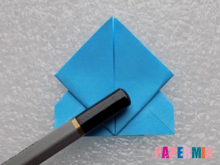 Как сделать ракету из бумаги поэтапно - шаг 18