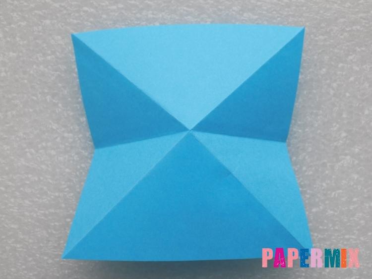 Как сделать ракету из бумаги поэтапно - шаг 4