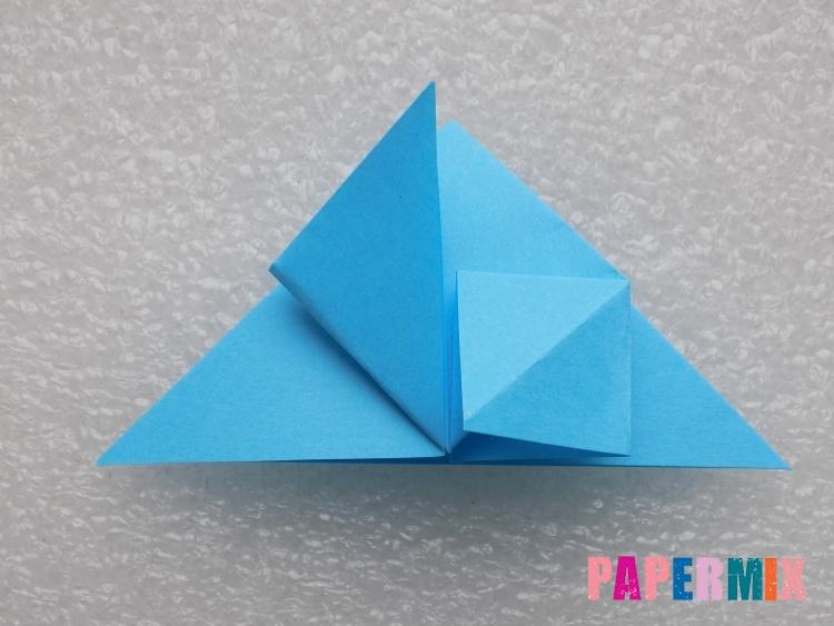 Как сделать ракету из бумаги поэтапно - шаг 9